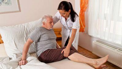 Cuidado de personas mayores, enfermas o dependientes