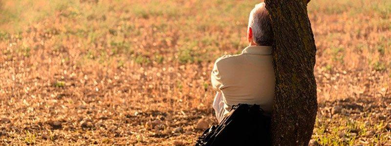 El problema de la soledad en las personas mayores