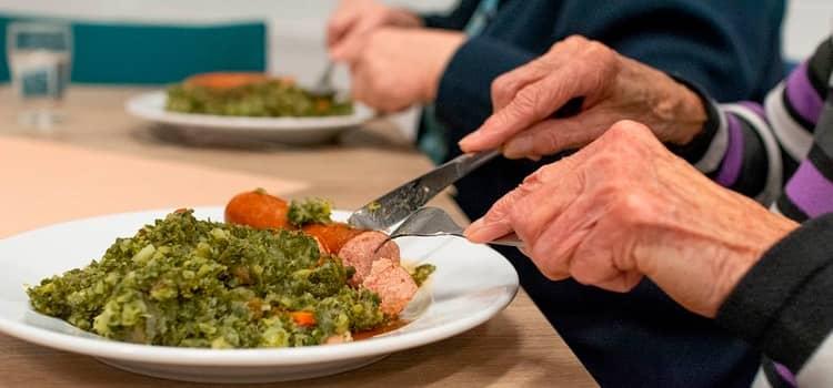 Alimentación en ancianos dependientes
